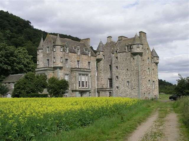 Castle Menzies, Weem. Image © Castle Menzies