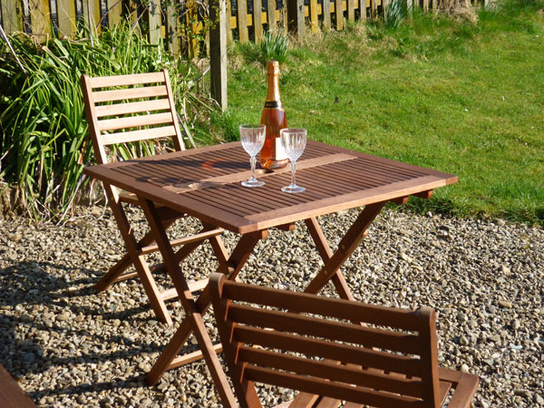 Enjoy outdoor space at Mains of Murthly Cottages
